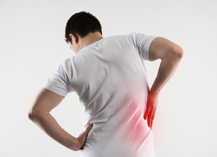 back muscle strain