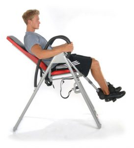 seated inversion table