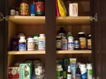 Jesse's Supplement Cabinet