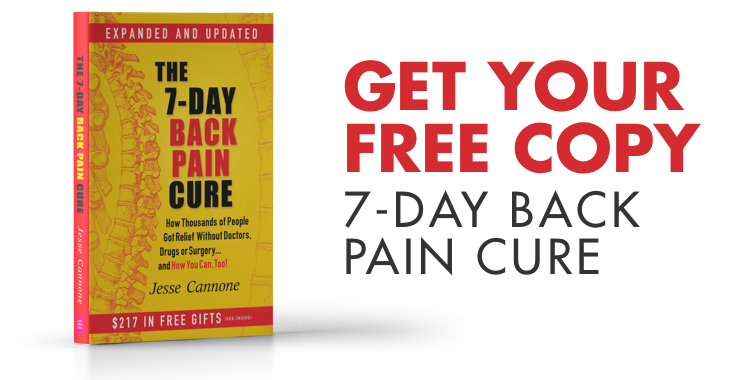 7 day back pain cure