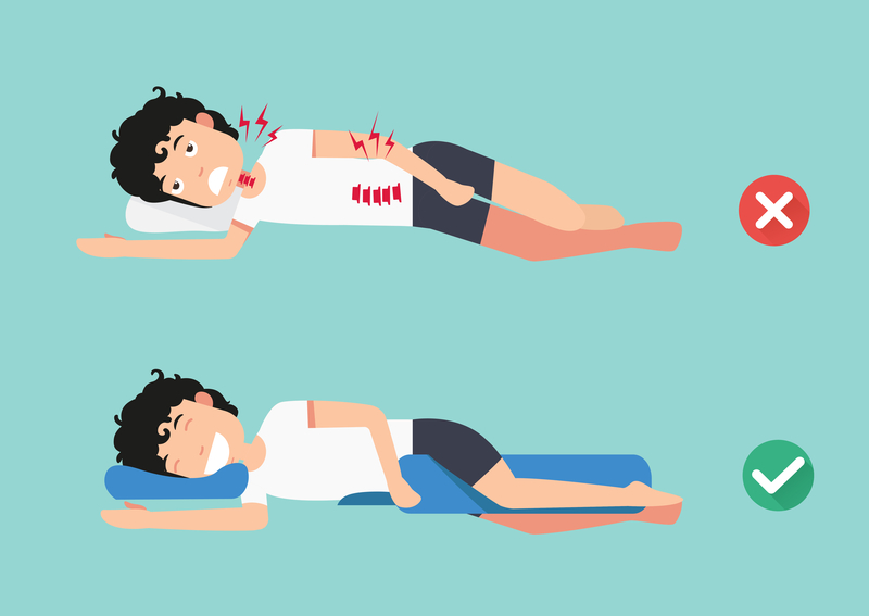 sleep posture for lower back pain