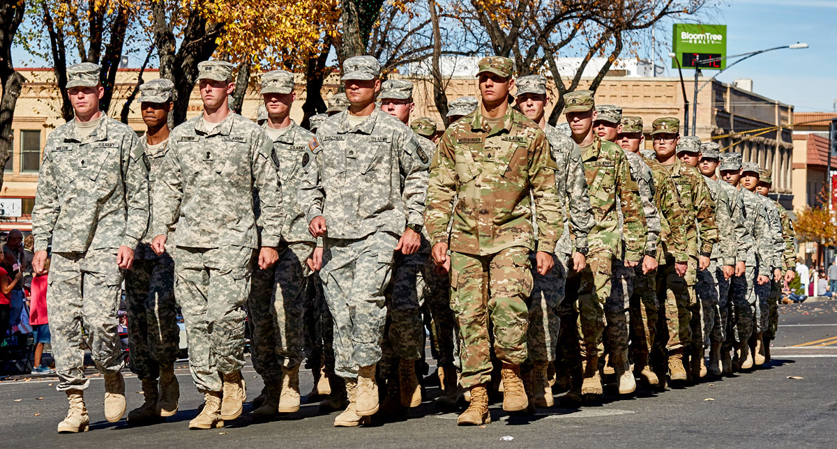 US Army soldiers